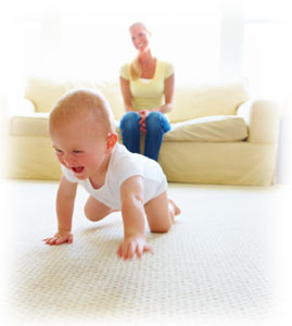 Baby safe carpet cleaning